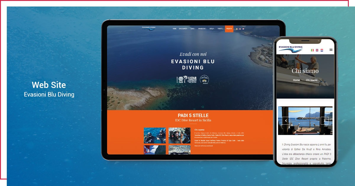 Easy Lab Communication | Evasioni Blu Diving